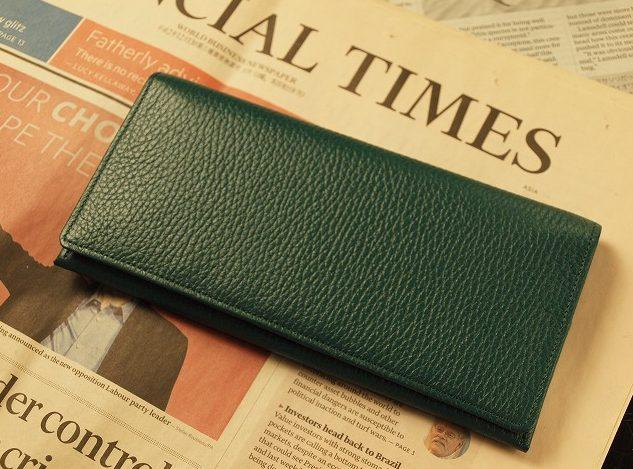 緑の長財布